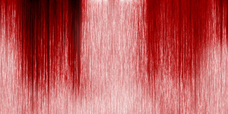 bloodied: Long wall with blood dripping down Stock Photo