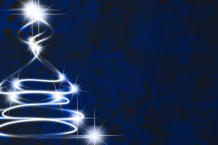 Abstract christmas tree Stock Photo - 1907928