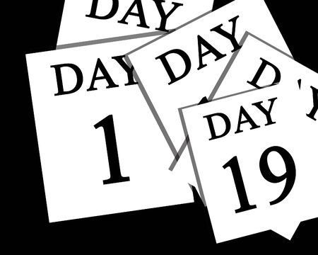 passing: The passing of days Stock Photo