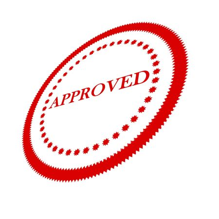 regulated: Approval stamp
