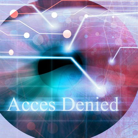access denied: Access denied after eye scan