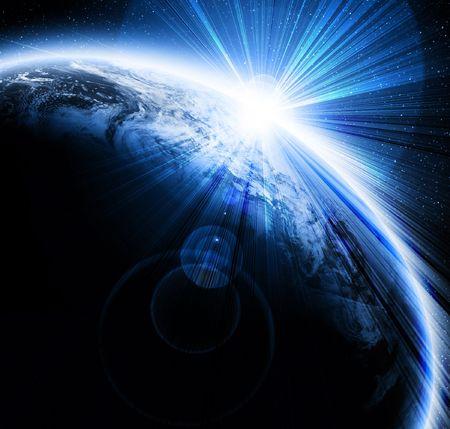 earthlike: Sunset on planet earth