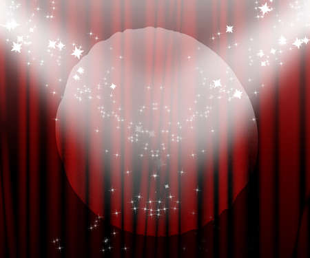 famous actor: Movie or theatre curtain