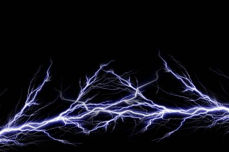 electrical energy: Electrical spark Stock Photo