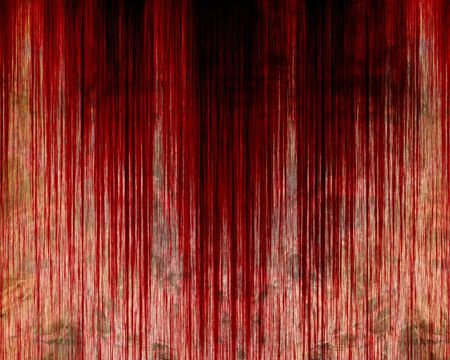 bloodied: Bloodied wall