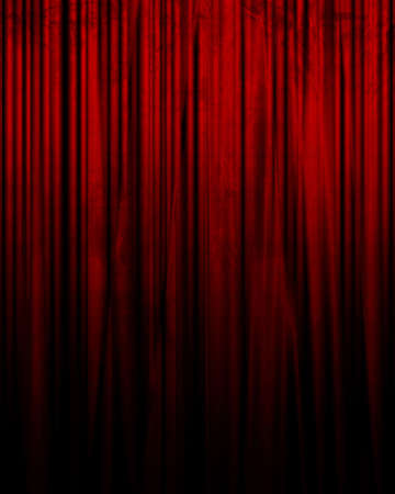 famous actor: Movie or theater curtain