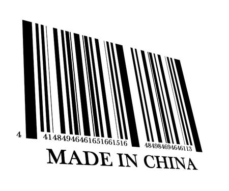 made in china: Barcode made in china