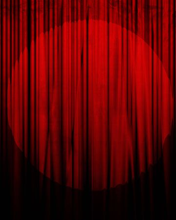 theatre: Movie or theater curtain