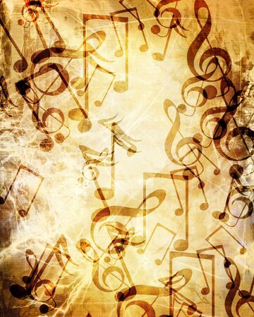 whirling: Old music sheet
