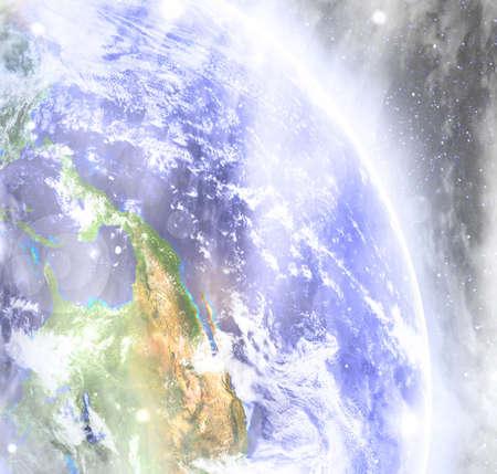 mundo contaminado: Foggy tierra