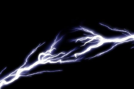 electrocute: Electrical sparks