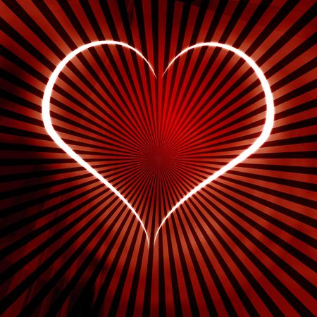 peacefull: Red heart