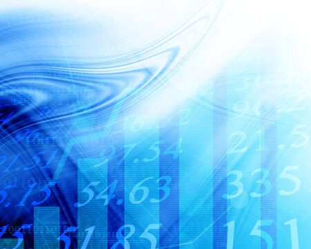 Electronic stock numbers going up Stock Photo - 2688749