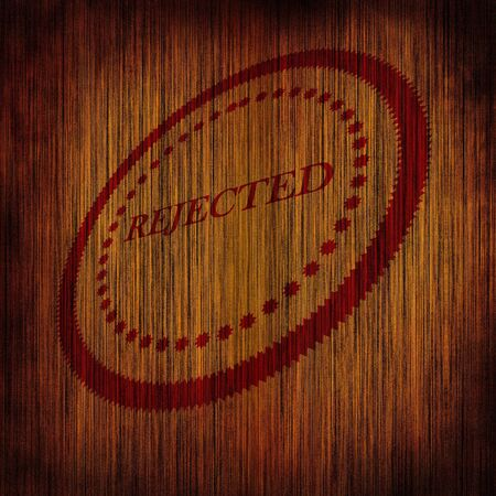 regulated: Rejected stamp