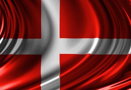 Danish flag photo