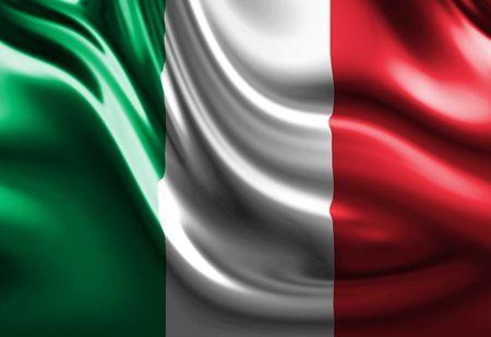 italian flag: Bandiera italiana