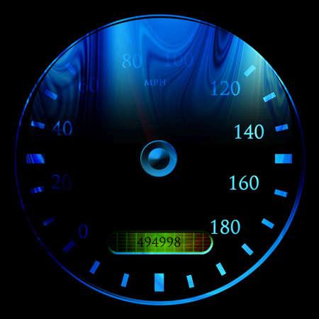 exceed: Speedometer