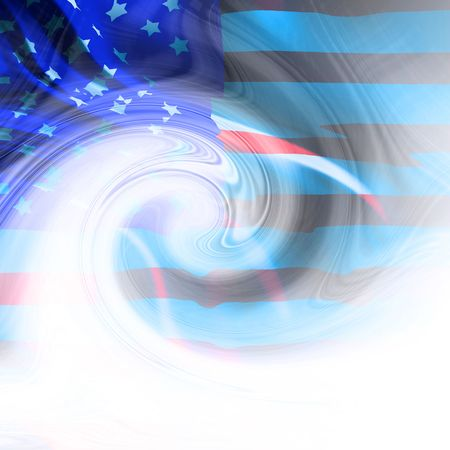 Abstract american flag photo