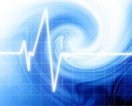 Heart beat on clinic monitor Stock Photo - 2792290