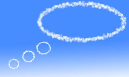 Cloud balloon photo