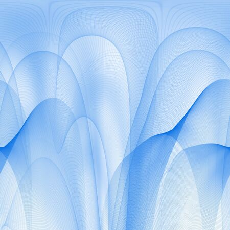 Abstract blue lines Stock Photo - 2802190