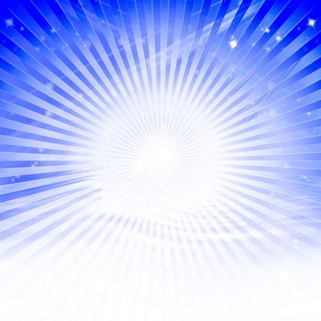 Abstract rays photo