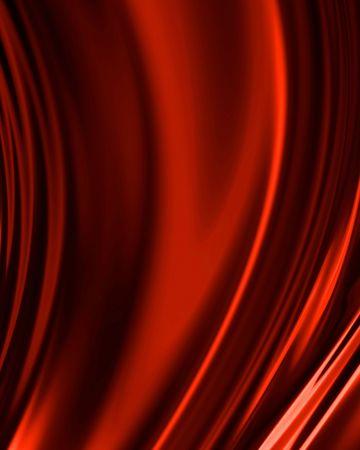 Rode draperie