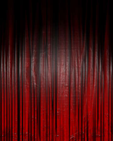famous writer: Movie or theater curtain