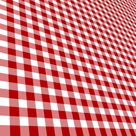 lineas rectas: Red de picnic tejido con l�neas rectas