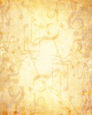 sol: Old music sheet