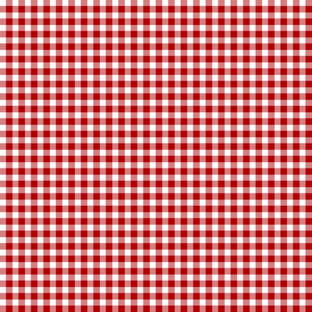 Red picnic fabric with straight lines Stock Photo - 3207212