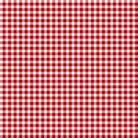 шашка: Red picnic fabric with straight lines