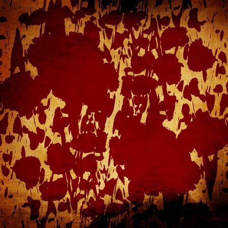 Blood splatter on a grunge like wall Stock Photo - 3207420
