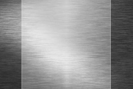 inox: Brushed metal plate