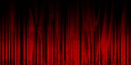 rideau de theatre: Long film ou rideau de th��tre avec des teintes sombres