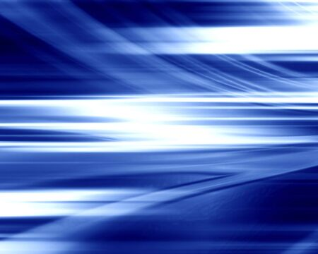 abstract blue background with some smooth lines Stock Photo - 3301529