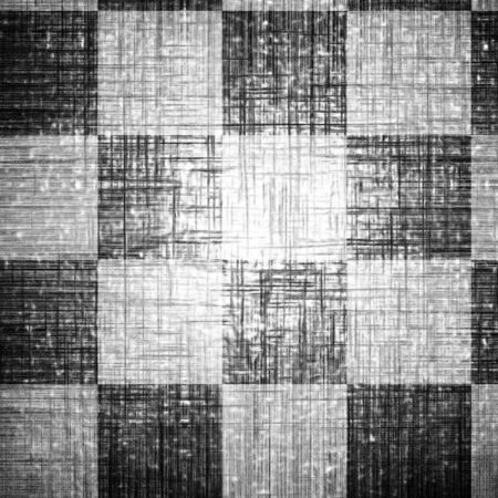 checkered pattern with some damage Stock Photo