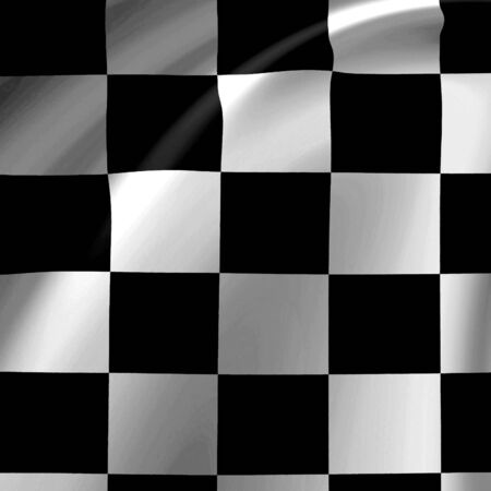 Clean checkered background with soft folds Stock Photo - 3301197