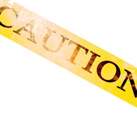 police line 'caution' Stock Photo - 3301715