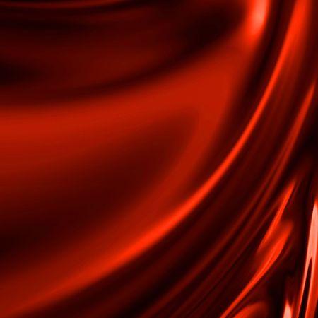 tela seda: Cortinas de color rojo con algunos pliegues