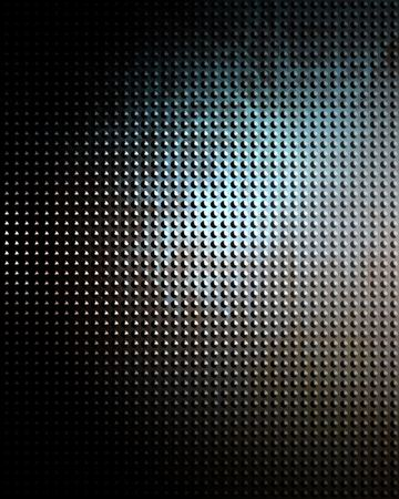 Brushed aluminium metal plate with some reflection Stock Photo - 3302236