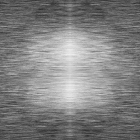 inox: brushed metal plate with some reflected light
