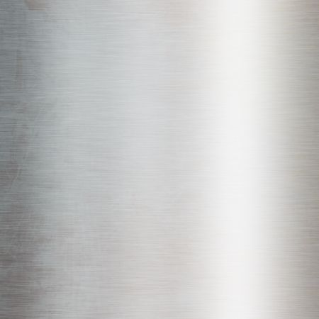 inox: Brushed metal plate with reflected light