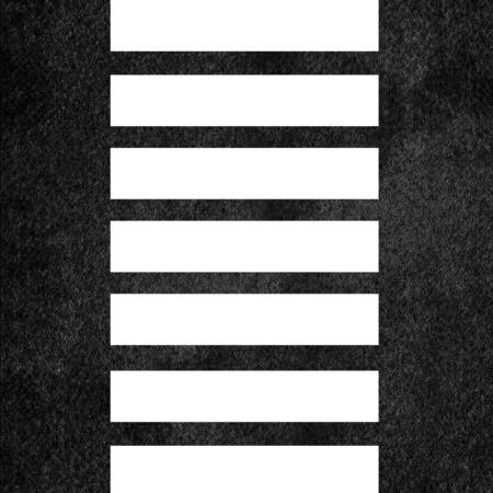zebra crossing: Asphalt texture with fine grain and zebra crossing Stock Photo
