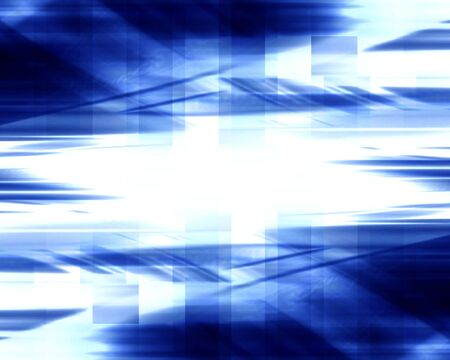 abstract blue background with some smooth lines in it photo