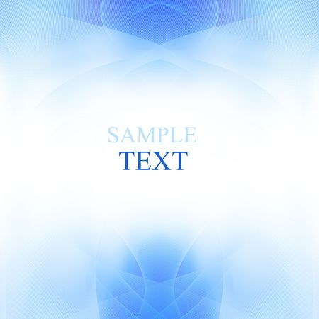 Abstract background with white and blue photo