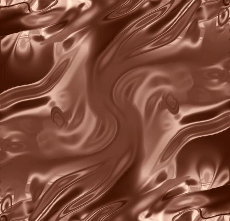 melting chocolate: chocolate background with some smooth lines in it