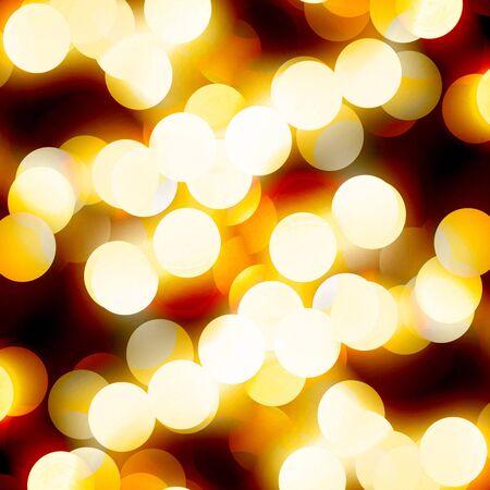 Blurred  lights on a dark background Stock Photo