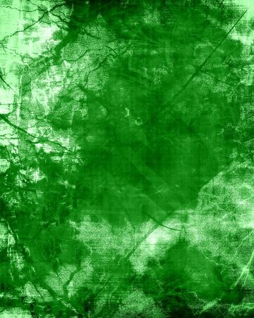 geology: green grunge background with some damage on it