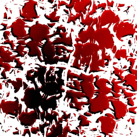 bloodied: Blood splatter on a solid white background